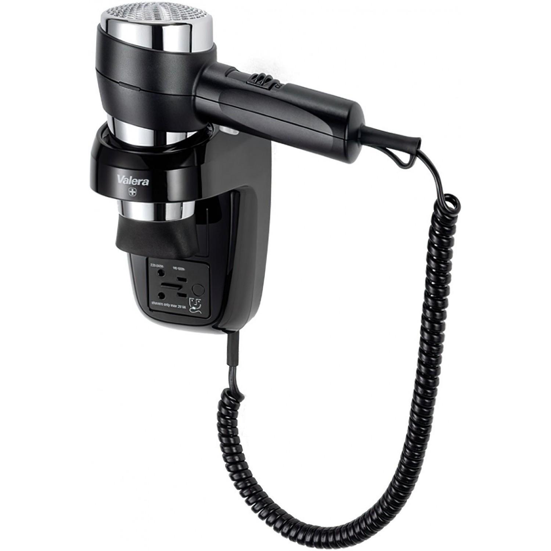 Настенный фен VValera Action Super Plus 1600 Shaver Black 542.06/044.05