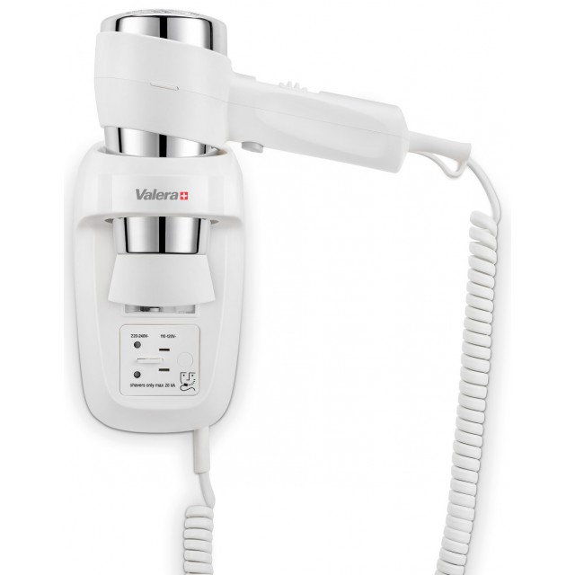 Фен Valera Action Protect 1600 Shaver White 542.06/044.06